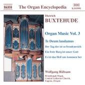 Buxtehude: Organ Music, Vol. 3 by Wolfgang Rubsam