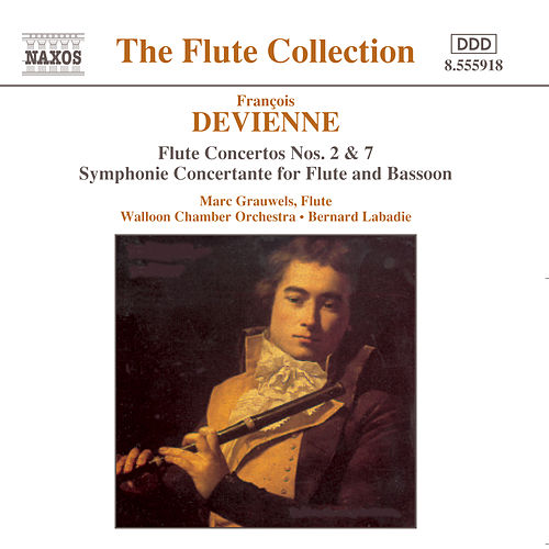 Devienne: Flute Concertos by Marc Grauwels