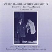 Clara Haskil & Arthur Grumiaux: Besancon Festival Recital (1957) by Various Artists