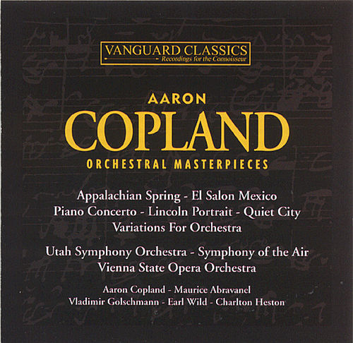 Orchestral Masterpieces by Aaron Copland