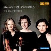 Brahms - Liszt - Schönberg by Boulanger Trio