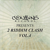 Cousins Records Presents 2 Riddim Clash Vol.4 von Various Artists