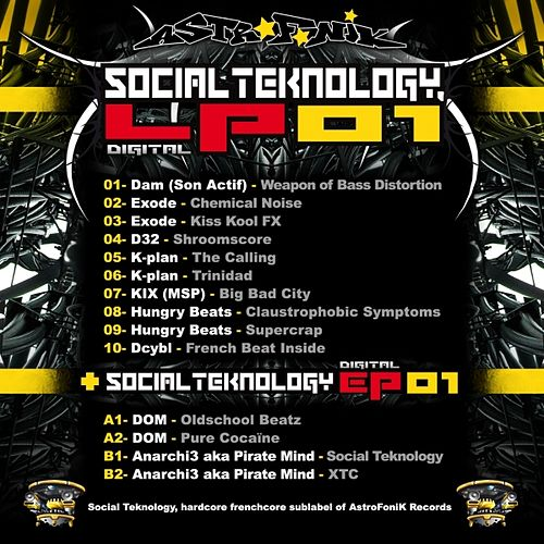 Social Teknology LP 01 by Various Artists