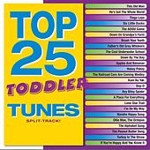 Top 25 Toddler Tunes (Split Track) by Various Artists