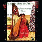 The Golden Harp at Christmas by Sylvia Kowalczuk