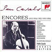 Encores by Pablo Casals