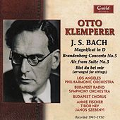 Otto Klemperer - Bach, 1945 & 1950 by Various Artists