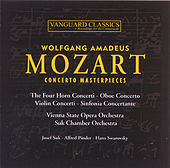 Concerto Masterpieces by Wolfgang Amadeus Mozart