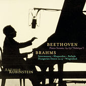 Rubinstein Collection, Vol. 10: Beethoven: Pathétique Sonata; Brahms: Intermezzos, Rhapsodies, etc. by Arthur Rubinstein