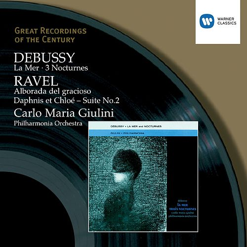 Debussy & Ravel: Orchestral Works Giulini by Carlo Maria Ciulini