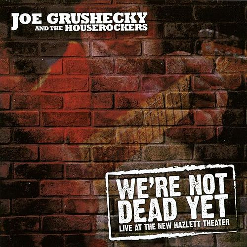 We're Not Dead Yet: Live At The New Hazlett Theater by Joe Grushecky