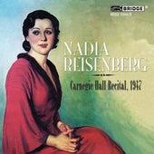 Nadia Reisenberg - Carnegie Hall Recital, 1947 by Nadia Reisenberg