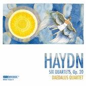 Daedalus Quartet: Haydn Recording by Daedalus Quartet