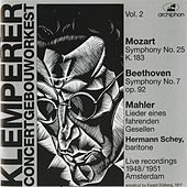 Otto Klemperper: Concertgebouworkest, Vol. 2 by Various Artists