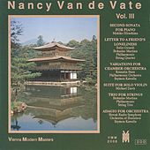 Nancy Van de Vate, Vol. 3 by Various Artists