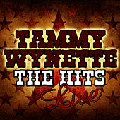 The Hits Live by Tammy Wynette
