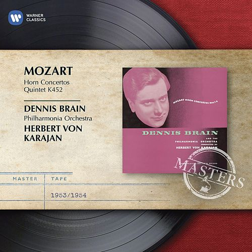 Mozart: Horn Concertos Nos. 1-4; Quintet K452 by Various Artists