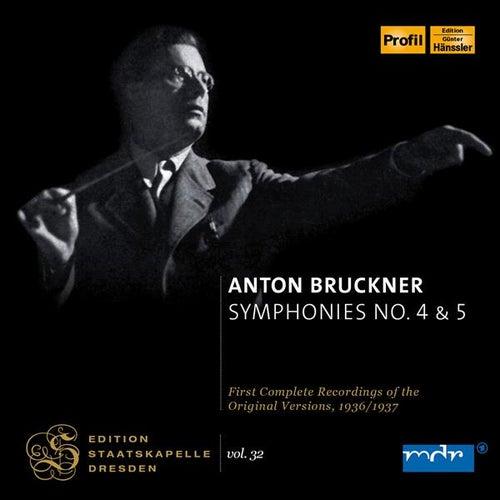 Bruckner: Symphonies Nos 4 & 5 by Karl Bohm
