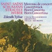 Weber, Strauss, Saint-Saëns, Schumann: Concertino in E minor, Concerto in C minor, Morceau de concert, Concerto Piece by Zdeněk Tylšar