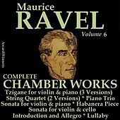 Ravel, Vol. 6 : Chamber Works by Various Artists