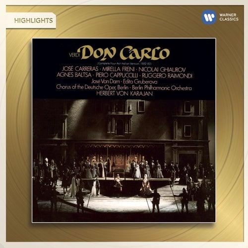 Verdi: Don Carlo (highlights) von Herbert Von Karajan