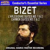Bizet: L'Arlésienne Suite No. 1 & 2, Carmen  Suite No. 1 & 2 by Various Artists