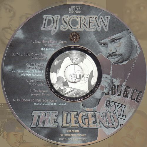 Singles from the Album 'The Legend' by DJ Screw