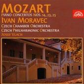 Mozart: Piano Concertos Nos 14, 23, 25 by Ivan Moravec