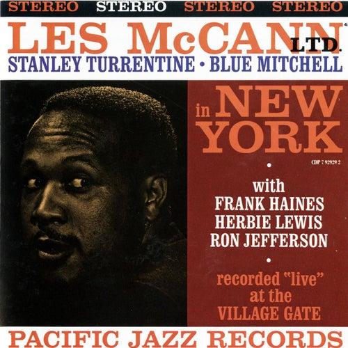 Les McCann LTD in New York (feat. Stanley Turrentine & Blue Mitchell) by Les McCann