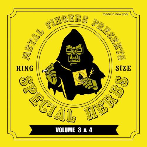 Metal Fingers Presents: Special Herbs Vol. 3 & 4 by MF DOOM