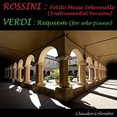 Rossini : Petite Messe Solennelle - Verdi : Requiem for Piano solo by Various Artists