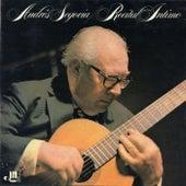 Recital intimo by Andres Segovia