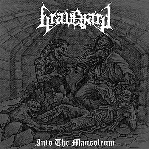 Into the Mausoleum by Graveyard