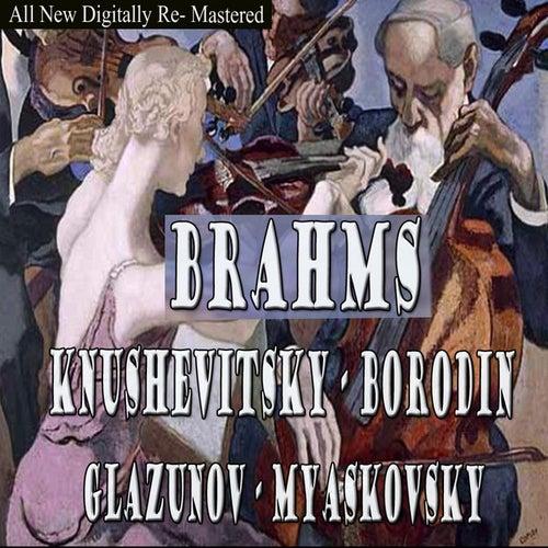 Brahms, Borodin, Glazunov, Myaskovsky - Knushevitsky by Sviatoslav Knushevitsky