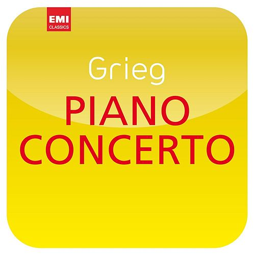 Grieg: Piano Concerto ('Masterworks') by Mariss Jansons