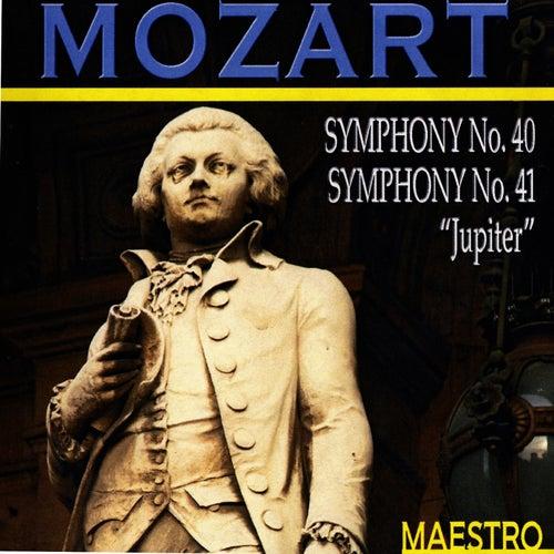 Mozart: Symphony No. 40 - Symphony No. 41 'Jupiter' by Slovak Philharmonic Orchestra