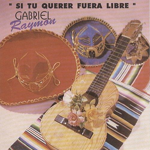 Si Tu Querer Fuera Libre by Gabriel Raymon