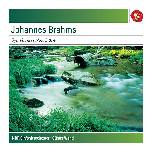 Brahms: Symphonies No. 3 in F Major, Op. 90 & No. 4 in E Minor, Op. 98 - Sony Classical Masters by Günter Wand