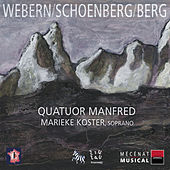 Webern, Schoenberg & Berg: Quatuor à cordes by Various Artists