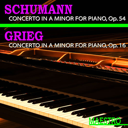 Grieg: Piano Concerto in A Minor - Schumann: Piano Concerto in A Minor by Slovak Philharmonic Orchestra