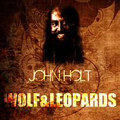 Wolf & Leopards by John Holt