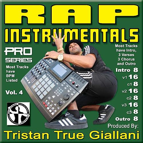 Rap Instrumentals, Vol. 4 by Rap Instrumentals
