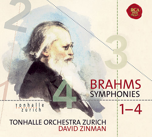 Brahms: Symphonies 1-4 by David Zinman