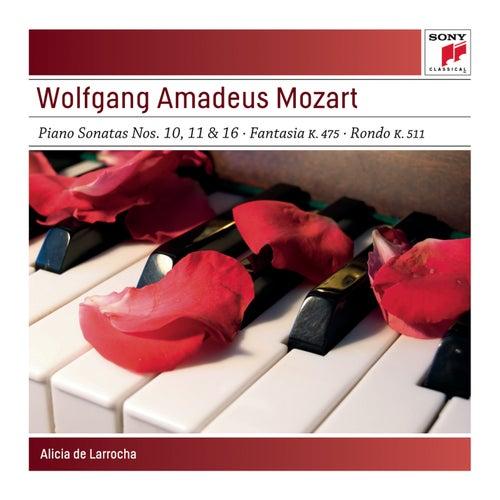 Mozart: Piano Sonatas by Alicia De Larrocha