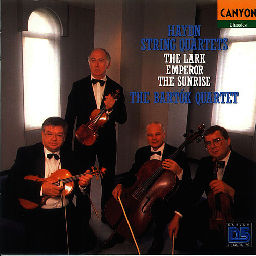 Hayden: String Quartets, The Lark -  Emperor - The Sunrise by Bartok Quartet