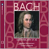 Bach, JS : Sacred Cantatas BWV Nos 37 - 40 by Various Artists
