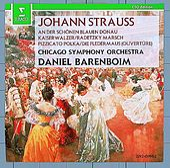 Strauss, Johann II : Waltzes & Polkas by Daniel Barenboim