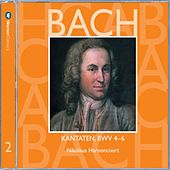 Bach, JS : Sacred Cantatas BWV Nos 4 - 6 by Nikolaus Harnoncourt