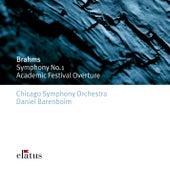 Brahms : Symphony No.1 & Academic Festival Overture by Daniel Barenboim