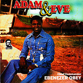 Adam and Eve by Ebenezer Obey